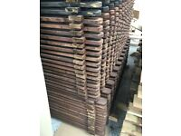 Picket Fencing (black/Brown/Natural) *20no. 1.8m available*