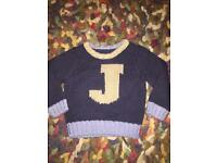 Baby boys 12-18 months Junior J jumper