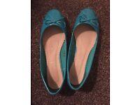 New Blue ballerina, women, size 43