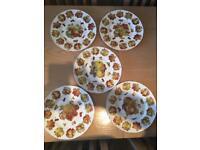 Bone china plates