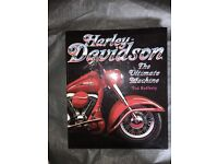 Harley Davidson collection of 4 hardback books all as new condition rare bargain