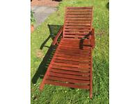 Wooden Sun-loungers (Hardwood)