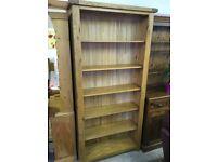 Oak Bookcase - 2 Available - £145 EACH