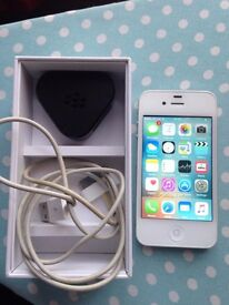 iphone 4s unlock 16gb with box good condition
