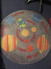 Next Childrens Space Rug