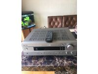 Yamaha natural sound dts av receiver with remote