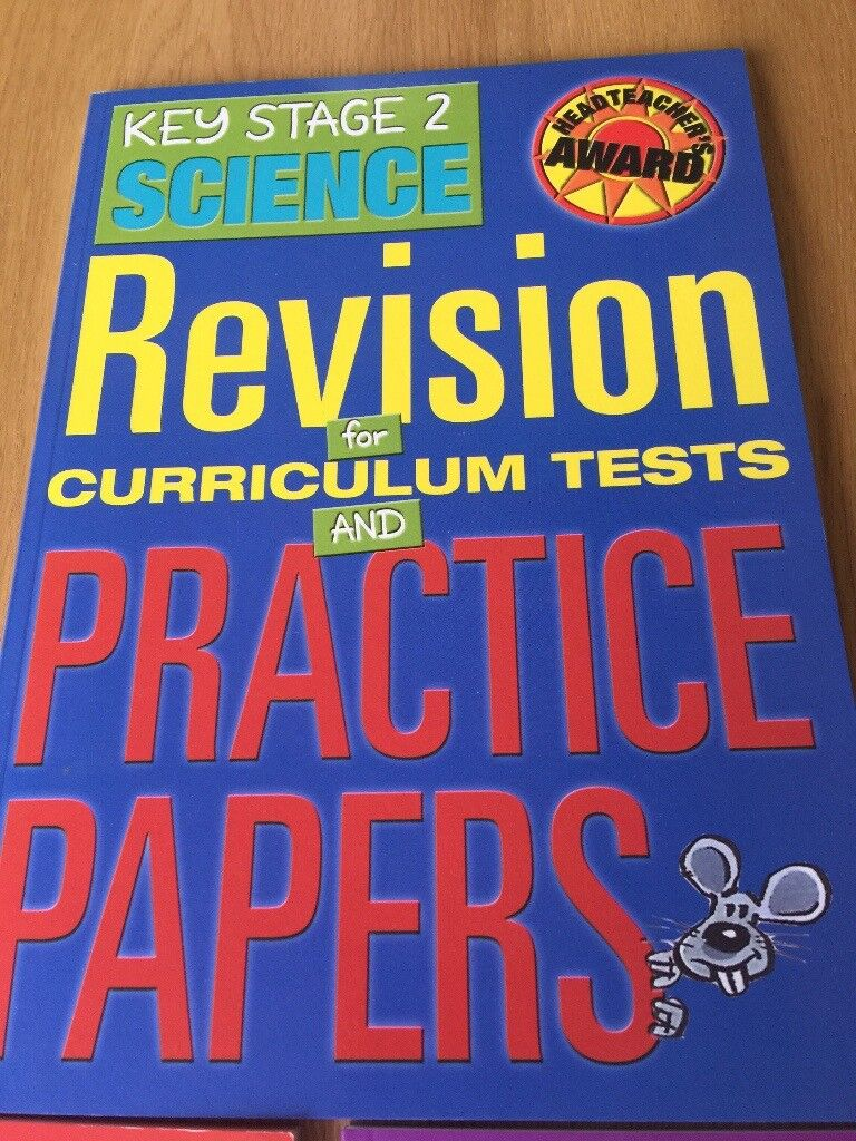 set of 3 new REVISION Books (Maths, English & Science) Key stage 2 ...