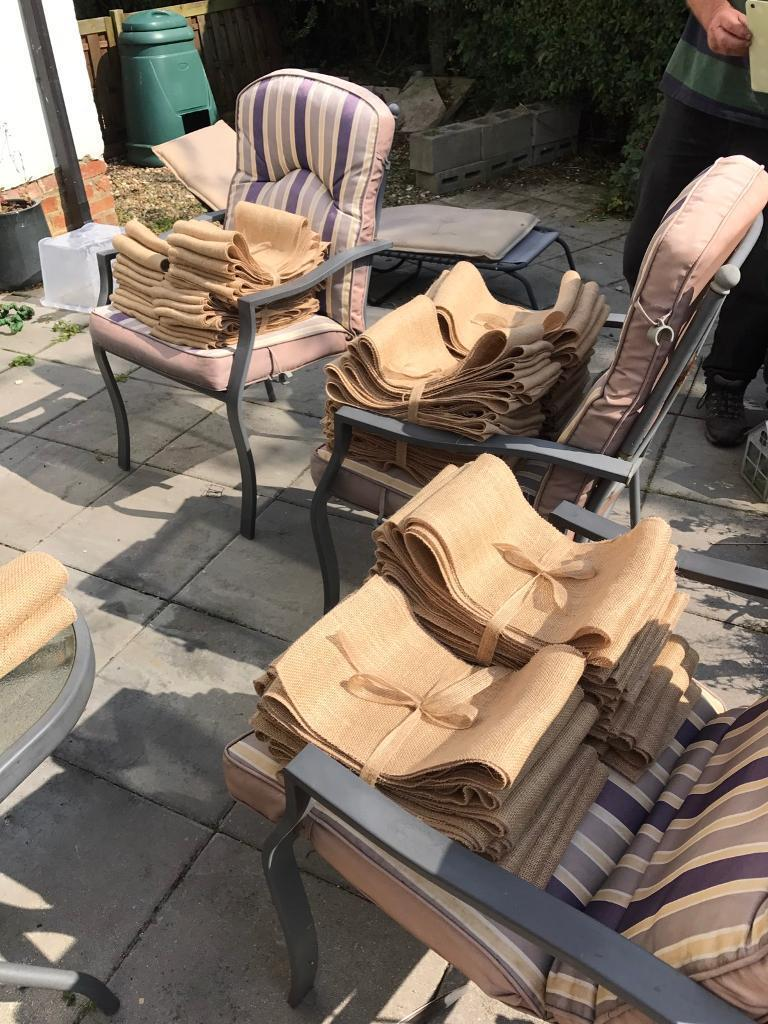 110 hessian chair sashes wedding decoration in malton north 110 hessian chair sashes wedding decoration junglespirit Images