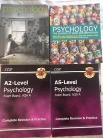Psychology Textbooks and Revision Material