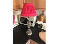 Pink Laura Ashley Lamp