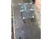 Two glass tables for sale in good condition Only £18