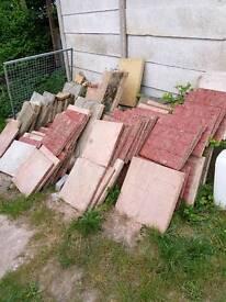 Various reclaimed slabs