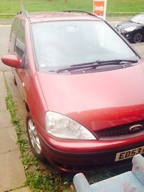 Ford galaxy excellent runner 12 months mot all service history avaliable