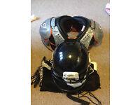 American football equipment/gear.