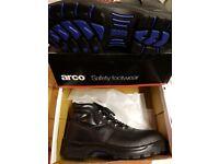 Mens steel toe cap work boots BRAND NEW
