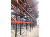 JOB LOT MECALUX pallet racking excellent condition ( pallet racking , industrial storage )