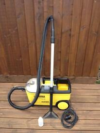 Karcher Puzzi 100 carpet cleaning machine used