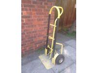 Heavy Duty Sack Trolley Full Size Large Barrow Industrial Trolley Yellow Colour