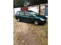 Peugeot 307 LX HDI 1997cc Diesel Estate 2002