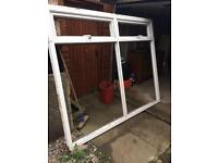 Large window and frame