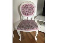 Shabby Chic Vintage Chair (upcycled)