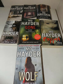Full Set of 7Jack Caffery Books by Mo Hayder