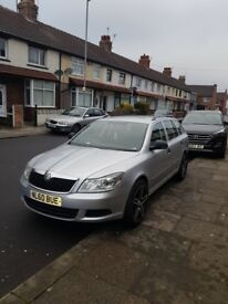 for sale or swap skoda octavia 1.9 tdi facelift top staff