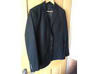 Men's Suit inc Trousers, Worn Once, £5 Also includes suit carrier and shirt.