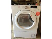 99 Hoover DMCD1013B 10kg White LCD Condenser Sensor Dry Tumble Dryer 1 YEAR GUARANTEE FREE DELIVERY