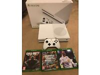 Xbox one s boxed complete 3 games