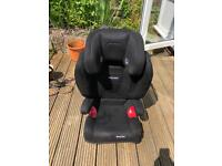 Recaro Car Seat with ISO Fix includes car seat protector
