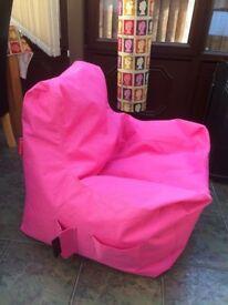Teenager Beanbag - Pink (Argos Item 532/7881)