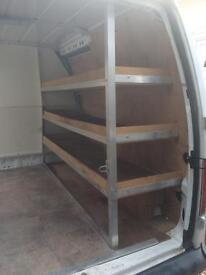 Van shelving/racking