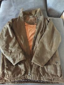Genuine large men's Barbour coat