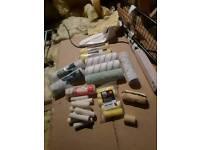 Paint roller sleeves