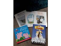 selection of 5 childrens books