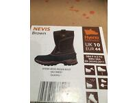 Work 'rigger' boots size 10