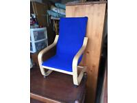 Children's Ikea poang chair