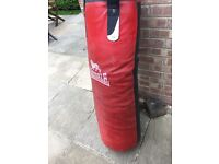 Lonsdale Leather Punch Bag