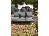 Vw rear seats