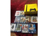 Ps2 plus 10 games. Boxed and in great condition.2 Controllers included