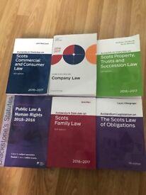 Selling Scots law statute books