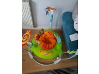 Fisher Price Rainforest Jumperoo Baby Bounce