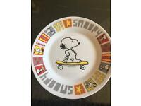 Snoopy plate