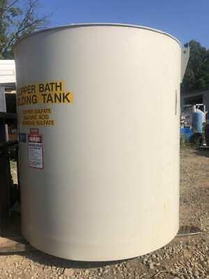 1920 Gallon Hdpe Poly Tank Liquid Storage Holding Tank Copy