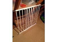 Babydan extending stair gate with all fastenings