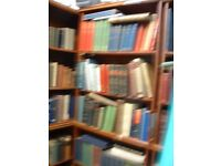 SHOP CLOSING DOWN LOT OF COLLECTABLE ANTIQUE BOOKS TO CLEAR