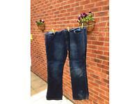 Men's motorbike jeans