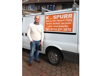 Building, Roofing, Pointing, Soffits and Fascias, Guttering, Brickwork & Extensions