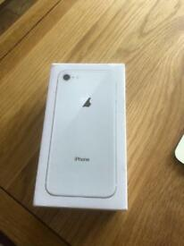 iPhone 8, 64gb. New and sealed